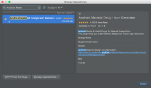 Android Material Design Icon Generator Plugin