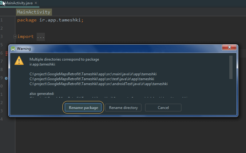 How Do You Rename Packages In Android Studio