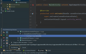 How Rename Packages In Android Studio